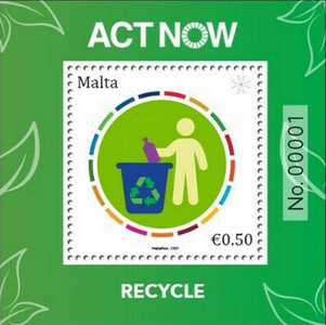 [ACT NOW - Recycle, type ]