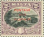 [Definitives of 1926-1927 Overprinted POSTAGE AND REVENUE, type AA2]