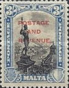 [Definitives of 1926-1927 Overprinted POSTAGE AND REVENUE, type AC2]