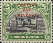 [Definitives of 1926-1927 Overprinted POSTAGE AND REVENUE, type AD2]