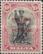 [Definitives of 1926-1927 Overprinted POSTAGE AND REVENUE, type AE2]