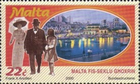 [Malta Throughout the 20th Century, type AHB]