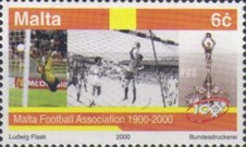 [The 100th Anniversary of the Football Union of Malta, type AHD]