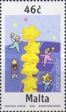 [EUROPA Stamps - Tower of 6 Stars, type AHH1]