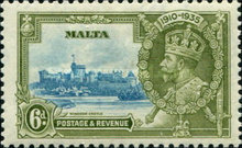 [The 25th Anniversary of King George V, Typ AI2]