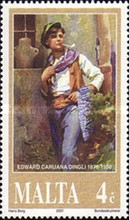 [The 50th Anniversary of the Death of Edward Caruana Dingli, type AIQ]