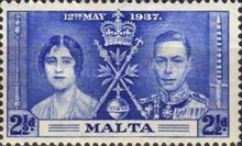 [The Coronation of King George VI, type AJ2]