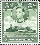 [King George VI and Local Motifs, type AL]