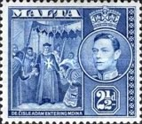 [King George VI and Local Motifs, type AP]