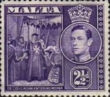 [King George VI and Local Motifs, type AP1]