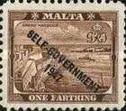[King George VI and Local Motifs Overprinted