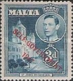 """[King George VI and Local Motifs Overprinted """"SELF-GOVERNMENT - 1947"""", type BA6]"""