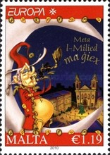 [EUROPA Stamps - Children's Books, type BAY]