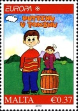 [EUROPA Stamps - Children's Books, type BAZ]
