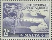 [The 75th Anniversary of the Universal Postal Union, type BD]