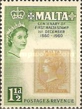 [The 100th Anniversary of the First Malta Stamp, Typ CV]