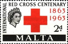 [The 100th Anniversary of Red Cross, Typ DE]