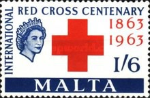 [The 100th Anniversary of Red Cross, Typ DE1]