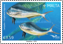 [EUROMED Issue - Fishes of the Mediterranean Sea, type DMD]