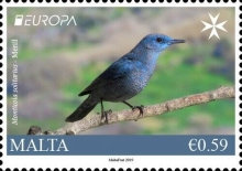 [EUROPA Stamps - National Birds, Typ DQX]