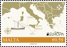 [EUROPA Stamps - Ancient Postal Routes, type DTO]
