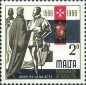 [The 400th Anniversary of Valletta, type EU]