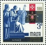 [The 400th Anniversary of Valletta, type EV]