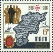 [The 400th Anniversary of Valletta, type EW]
