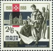 [The 400th Anniversary of Valletta, type EY]