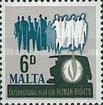 [International Year for Human rights, type FV]