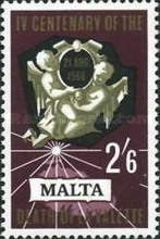 [The 400th Anniversary of the Death of Valettes, type GB]