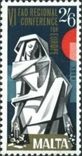 [EUROPA Stamps - FAO Regional Conference, type GH]