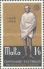 [The 100th Anniversary of the Birth of Mahatma Gandhi, type GI]