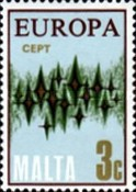 [EUROPA Stamps - Communications - Stars, type IF1]