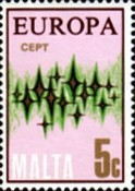 [EUROPA Stamps - Communications - Stars, type IF2]