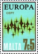 [EUROPA Stamps - Communications - Stars, type IF3]