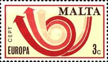 [EUROPA Stamps - Stylised Post Horn, type IY]