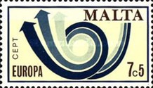 [EUROPA Stamps - Stylised Post Horn, type IY2]
