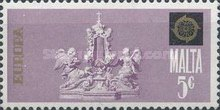 [EUROPA Stamps - Sculptures, type JO]