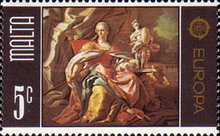 [EUROPA Stamps - Paintings, type KD]