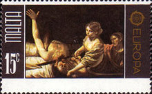 [EUROPA Stamps - Paintings, type KE]