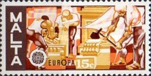 [EUROPA Stamps - Handicrafts, type KY]