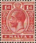 [King George V - Different Watermark, Typ M10]