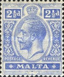 [King George V - Different Watermark, Typ M11]