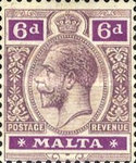 [King George V - Different Watermark, Typ M12]