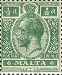 [King George V - Different Watermark, Typ M9]