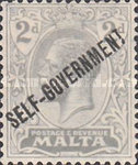 [Overprinted - SELF GOVERNMENT, type R4]