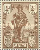 [Allegorical Stamps, Typ T]