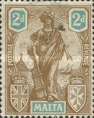 [Allegorical Stamps, type T5]