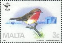 [Birds - Malta Ornithological Society, type TI]